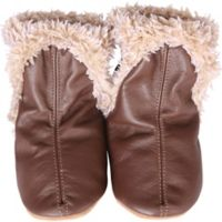 Robeez® Soft Soles™ Size 2-3Y Classic Bootie in Brown