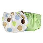 Pam Grace Creations Reusable Dots Cloth Diaper Covers (Set of 2)