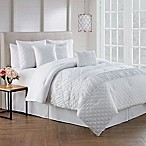 Avondale Manor Berlin 7-Piece King Comforter Set in White