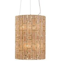 Varaluz® Harlowe 6-Light Foyer Pendant Fixture in Havana Gold