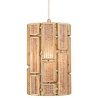 Varaluz® Harlowe Pendant 1-Light Fixture in Havana Gold
