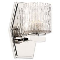 Minka-Lavery® Maginot 1-Light Wall-Mount LED Bath Fixture in Polished Nickel