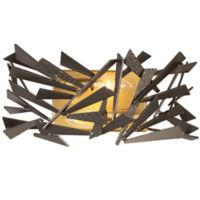 Varaluz® Bermuda 2-Light Wall Sconce in Antique Gold with Bronze