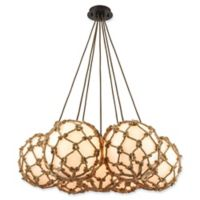 ELK Lighting Coastal Inlet 7-Light Ceiling-Mount Chandelier in Oil Rubbed Bronze
