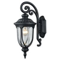 Elk Lighting Derry Hill Outdoor 17-Inch Wall Sconce in Black