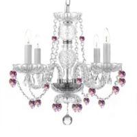 Gallery 4-Light Chandelier with Swarovski® Crystals