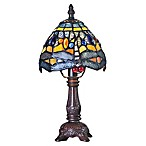 River of Goods Dragonfly Table Lamp in Blue