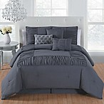 Avondale Manor Jules 7-Piece Queen Comforter Set in Grey