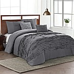 Avondale Manor Spain 5-Piece Queen Comforter Set in Charcoal