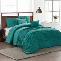 Avondale Manor Spain 5-Piece King Comforter Set in Teal