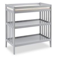 Westwood Design Reese Changing Table with Pad in Fog Grey