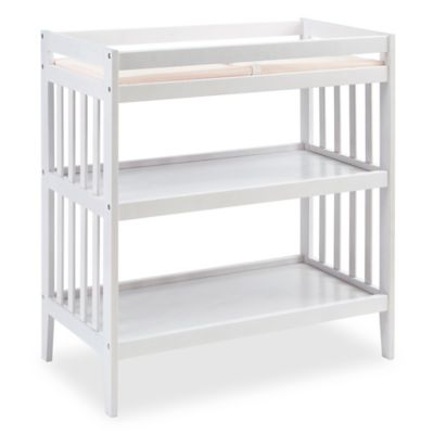 Changing Tables U003e Westwood Design Reese Changing Table With Pad In White