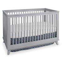Westwood Design Echo 3-in-1 Convertible Crib in Fog Grey
