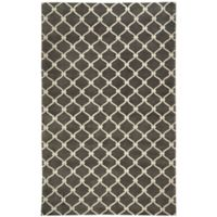 Capel Rugs Cococozy Picket 8-Foot x 11-Foot Area Rug in Light Charcoal