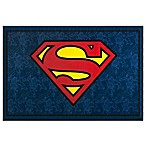 Wildkin 3-Foot 3-Inch x 5-Foot Superman Rug in Blue