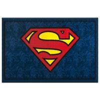 Wildkin 3-Foot 3-Inch x 5-Foot Superman Rug in Blue