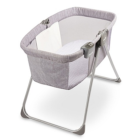 Baby Furniture U003e Evenflo® Loft Portable Bassinet In Grey