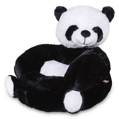 Delicieux Trend Lab Childrenu0027s Plush Panda Character Chair In Black