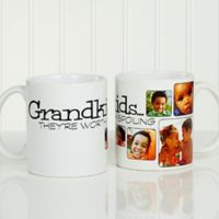They're Worth Spoiling 11 oz. Coffee Mug in White