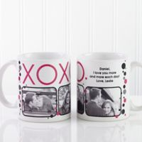 XOXO 11 oz. Coffee Mug in White