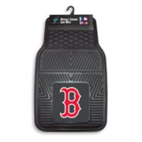 MLB Boston Red Sox Vinyl Car Mats (Set of 2)