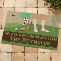 Gone Golfing 20-Inch x 35-Inch Door Mat