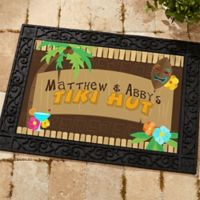Tropical Paradise 18-Inch x 27-Inch Door Mat