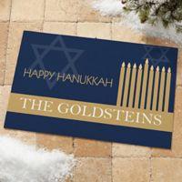 Hanukkah 18-Inch x 27-Inch Door Mat