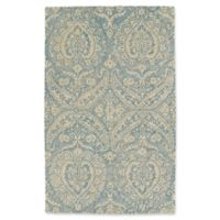 Kaleen Weathered Halifa Indoor/Outdoor 2-Foot x 3-Foot Accent Rug in Blue