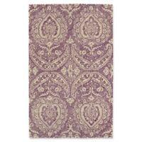 Kaleen Weathered Halifa Indoor/Outdoor 5-Foot x 7-Foot 6-Inch Area Rug in Purple