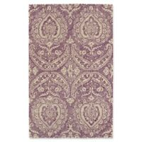 Kaleen Weathered Halifa Indoor/Outdoor 8-Foot x 10-Foot Area Rug in Purple