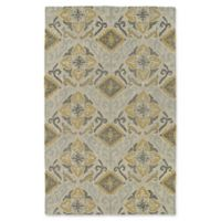 Kaleen Weathered Dhahran Indoor/Outdoor 2-Foot x 3-Foot Accent Rug in Spa