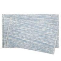 Jean Pierre Taylor 2-Piece Reversible Cotton Bath Rug Set in Light Blue