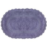 Jessica Simpson 21-Inch x 34-Inch Carlin Reversible Bath Rug in Purple