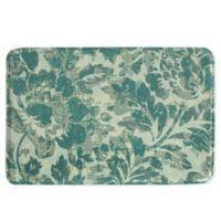 Bacova Milady 20-Inch x 30-Inch Memory Foam Bath Mat in Green