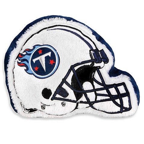 NFL Tennessee Titans Helmet Throw Pillow