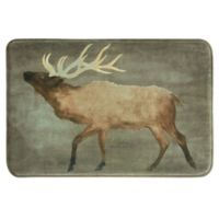 Bacova 20-Inch x 30-Inch Elk Bath Rug in Brown