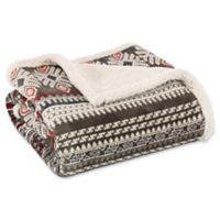 Eddie Bauer® Sycamore Throw Blanket in Brown