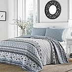 Stone Cottage Bexley  Reversible Full/Queen Quilt Set in Light Blue