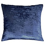 Peri Home Matelassé Medallion Velvet Iced Ombre European Pillow Sham in Navy