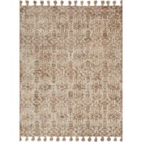 Magnolia Home by Joanna Gaines Teresa 2-Foot 6-Inch x 7-Foot 6-Inch Runner in Ivory/Bronze