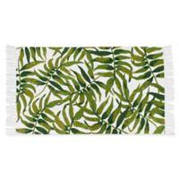 Thro by Mario Lorenz Leon Leaf 2-Foot 3-Inch x 4-Foot 1-Inch Accent Rug in Green/Multi