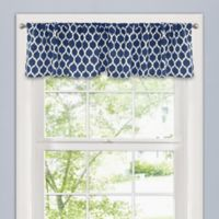 Colordrift Morocco Valance in Navy