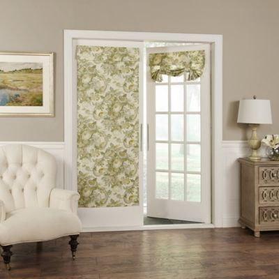 Waverly® Spring Bling Room Darkening Door Panel In Platinum