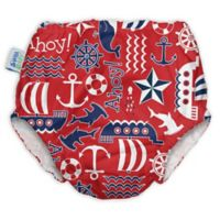 My Swim Baby® Size 2X Ahoy Reusable Swim Diaper in Red