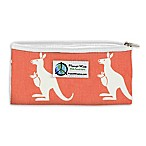 Planet Wise™ Kangaroo Zipper Snack Bag in Coral