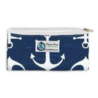 Planet Wise™ Overboard Zipper Snack Bag in Dark Blue