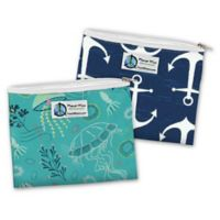 Planet Wise® Reusable Zipper Sandwich Bag (2-Pack)