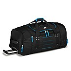 High Sierra Ultimate Access 2.0 30-Inch Rolling Duffle in Black/Blue