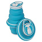 Collapsible Water Bottle in Bluebird